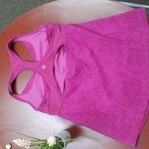 Lululemon pink size 4 shirt
